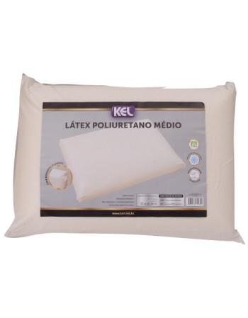 Travesseiro Látex de Poliuretano MÉDIO