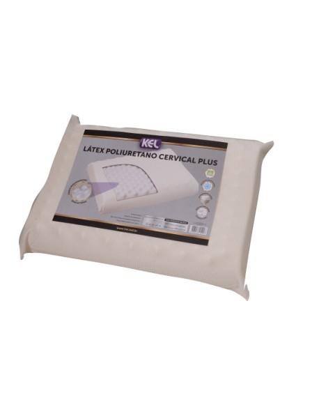 Travesseiro Látex de Poliuretano CERVICAL PLUS