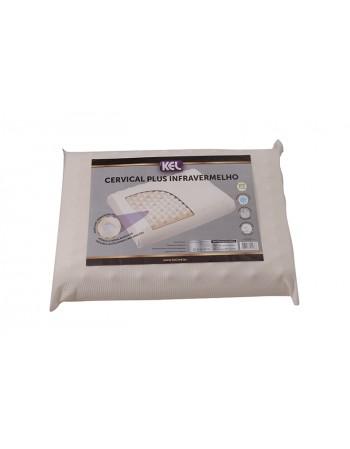 Travesseiro Látex de Poliriuletano Cervucak Plus INFRAVERMELHO